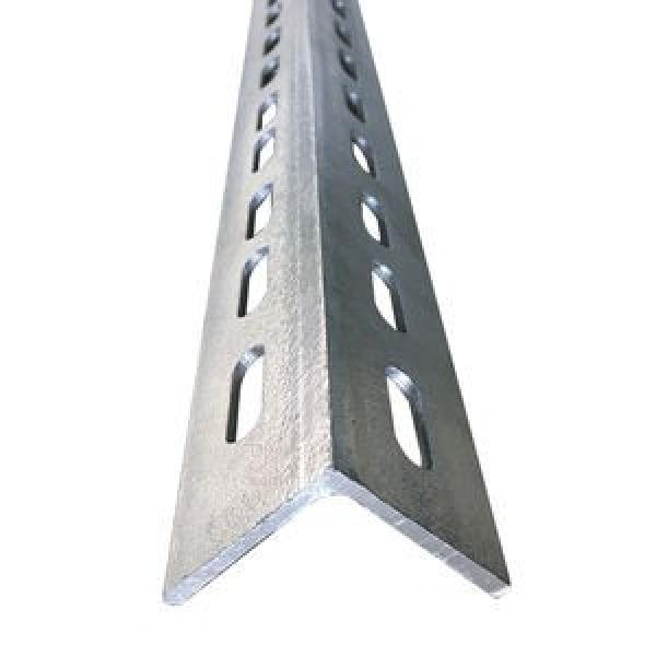 Galvanized Slotted ASTM A36 A572 Gr50 Gr60 BS En S355jr S355j0 Perforated Angle Iron #1 image