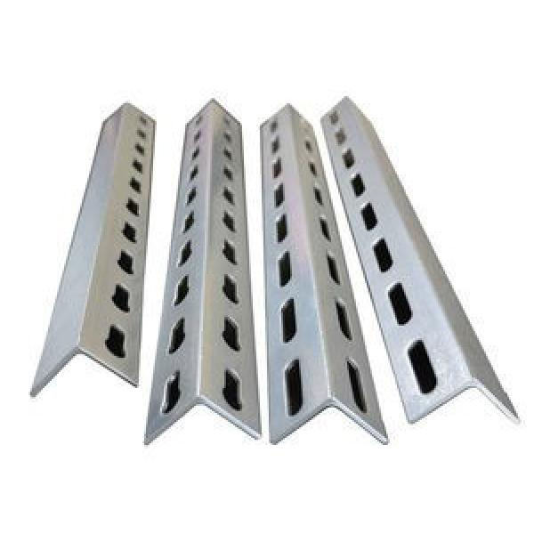 Hot Selling New Type Powder Coated Slotted Angle Bars with Holes #1 image