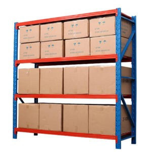 Industrial Warehouse Storage Selective Medium Duty Automatic Steel Rolling Shelf for Logistics Company #3 image