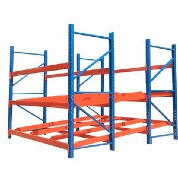 Made in China Steel Metal Warehouse Storage Shelving with Mezzanine Duty #2 image