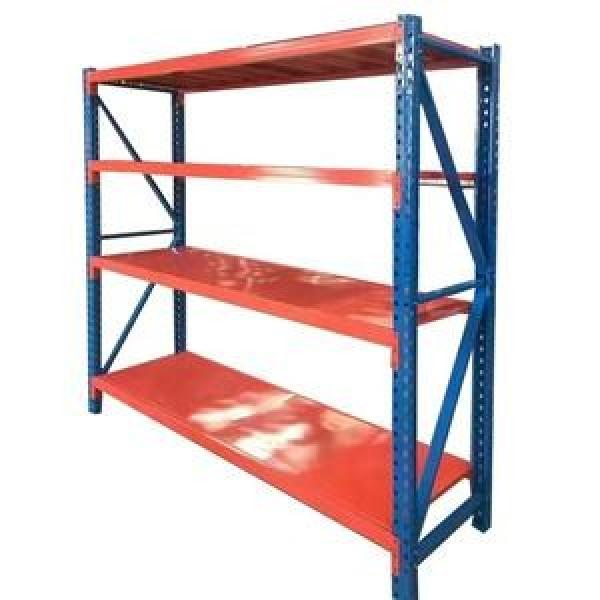 Industrial Medium Duty Adjustable Steel Metal Warehouse Storage Tire Shelf with Long Span #2 image