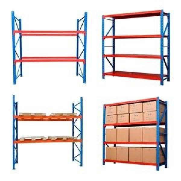 Anti Corrosive Q235 Strip Steel Industrial Heavy Duty Selective Pallet Storage Warehouse Stacking Shelf for Solutions Manufacturer #3 image