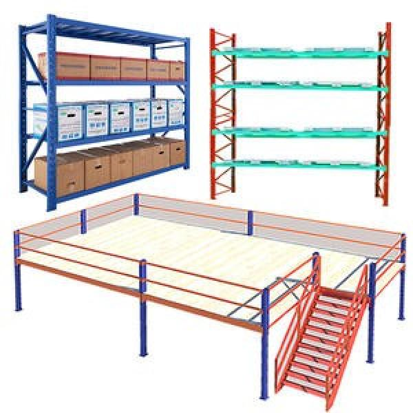Widely Use in Industrial Warehouse Storage Steel Rack/Shelf Without Bolts #3 image