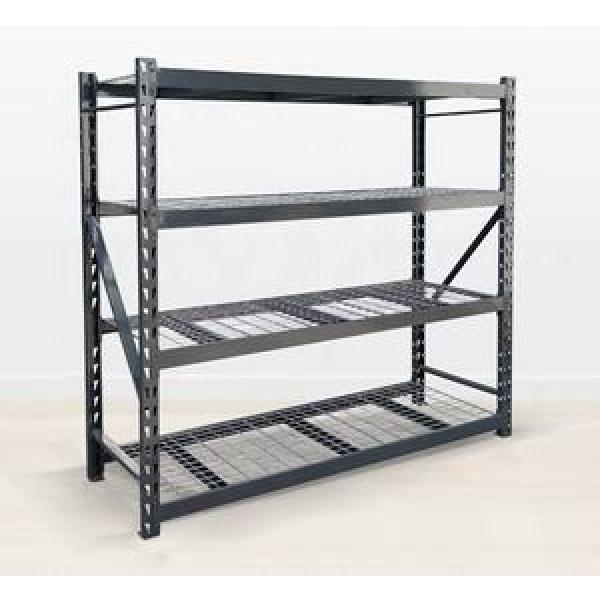 Metal Decorative Home Office Furniture Black Cast Iron Industrial Pipes Shelving Unit #2 image
