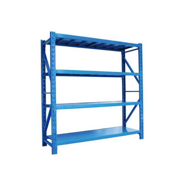 Commercial Q235 Steel Plate Wide Span Shelving Food Industrial Storage #3 image