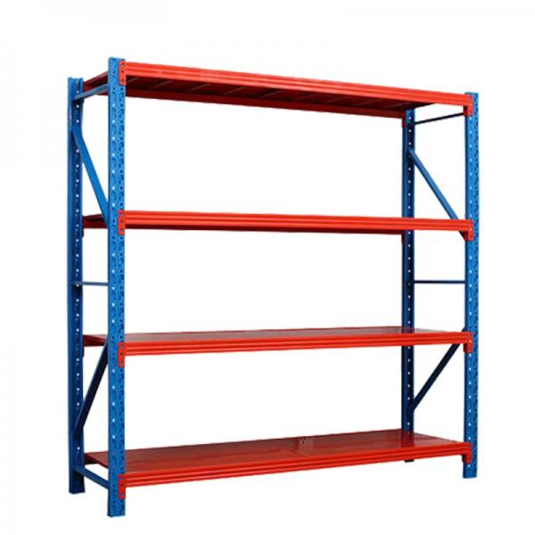 Industrial Commercial Double Stacking Gondola Pallet Warehouse Storage Stainless Steel Pallet Rack Shelf #3 image
