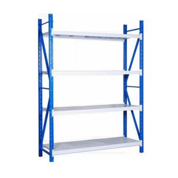 Anti Corrosive Q235 Strip Steel Industrial Heavy Duty Selective Pallet Storage Warehouse Stacking Shelf for Solutions Manufacturer #2 image