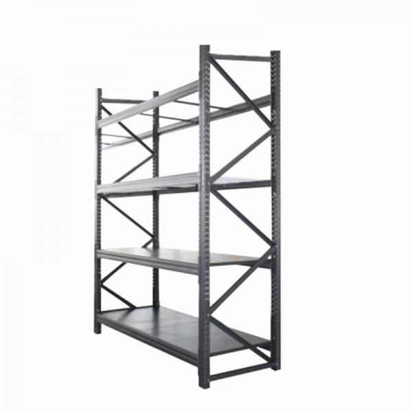 Rolling 6 Tiers Chrome Metal Kitchen Cookware Wire Baskets Rack Storage #3 image