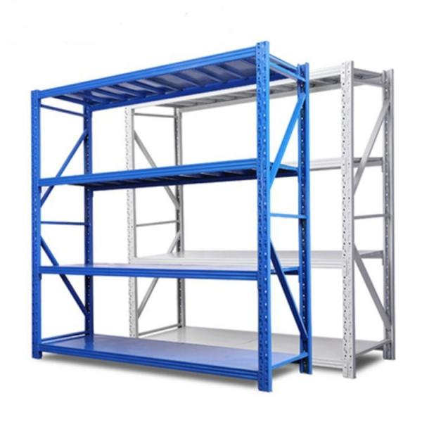 Commercial Metal Steel Rolling Storage Shelving Rack #3 image