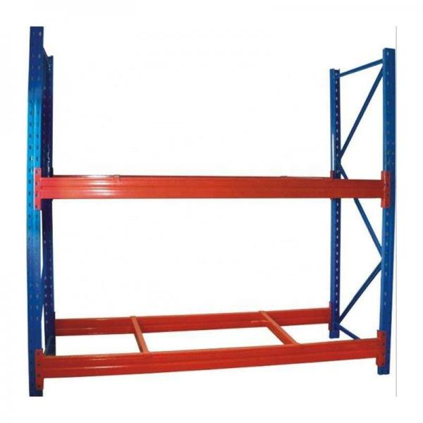 Heavy Duty Stacking Galvanized Warehouse Storage Mezzanine Cantilever Teardrop Shelf Metal Steel Shuttle Rack #2 image