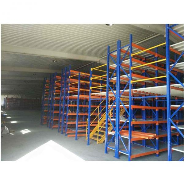 Commercial Metal Steel Rolling Storage Shelving Rack #2 image