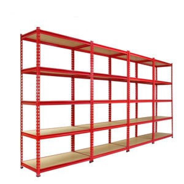 Industrial Medium Duty Adjustable Steel Metal Warehouse Storage Tire Shelf with Long Span #1 image
