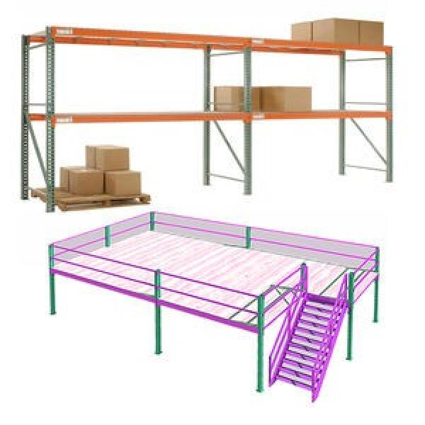 Automated Industrial Warehouse Heavy Duty Cold Storage Pallet Rack Shelf #3 image