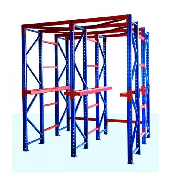 Heavy Duty Industrial Pallet Metal Storage Shelf System Stacking Steel Warehouse Rack #1 image