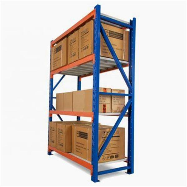 Heavy Duty Stacking Galvanized Warehouse Storage Mezzanine Cantilever Teardrop Shelf Metal Steel Shuttle Rack #1 image
