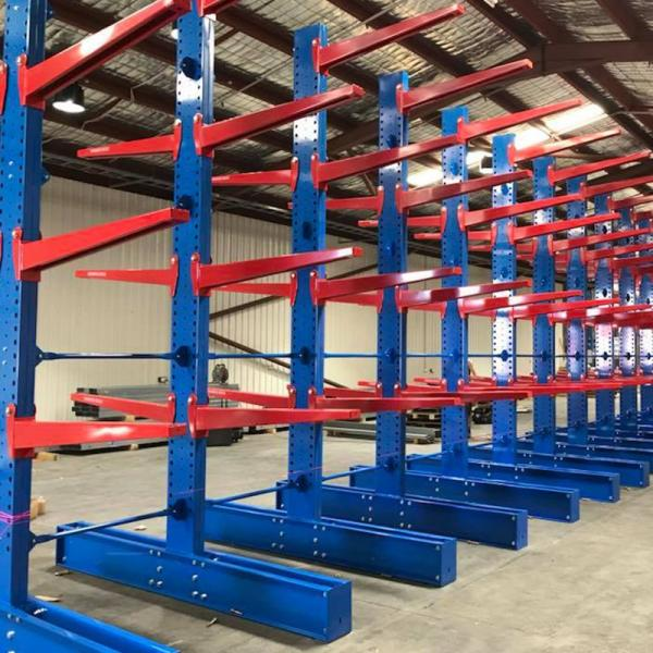 Heavy Duty Industrial Pallet Metal Storage Shelf System Stacking Steel Warehouse Rack #2 image