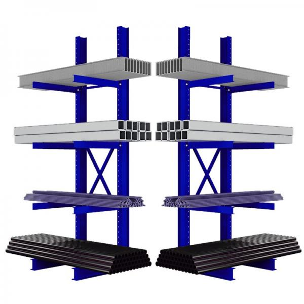 Warehouse Storage Heavy Duty Galvanized Metal Shelf Steel Pallet Racking #2 image