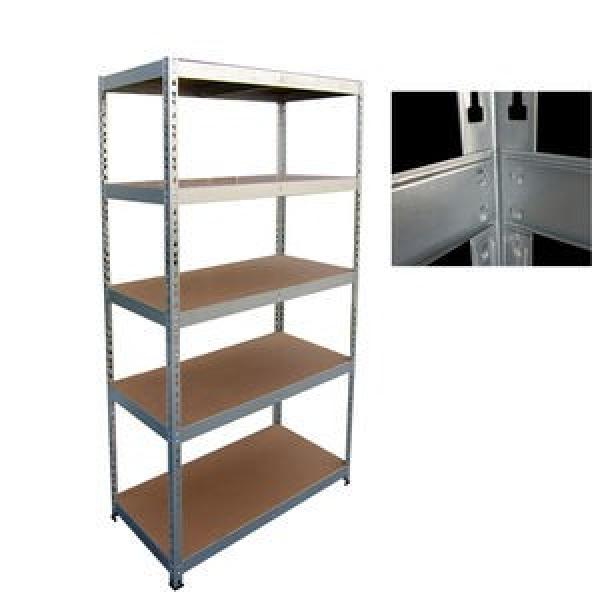 Steel Boltless Shelving Unit with 5 Layers #3 image