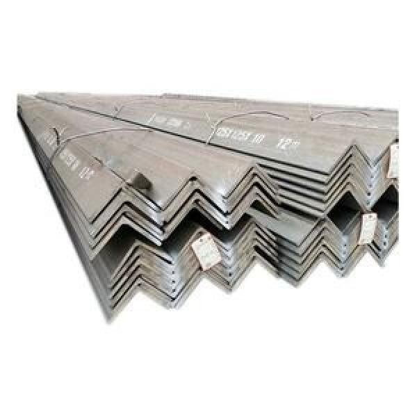 Q235 Equivalent Angle Mild Carbon Steel Galvanized Angle Bar A36 Equal and Unequal Hot ... #3 image
